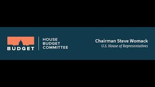 FY 2019 Budget Resolution Markup Day 2