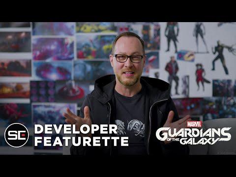 Présentation des développeurs de Marvel's Guardians of the Galaxy