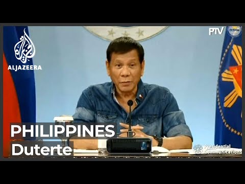 Philippines: Duterte reappears in public after ill health rumours