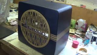 Lets Build And Tune An Art Deco Speaker Cabinet