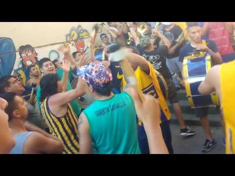 """""""Bombos // Rosario Central"""" Barra: Los Guerreros • Club: Rosario Central"""