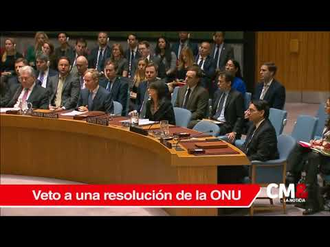 EE.UU. vetó resolución de ONU contra decisión de Trump sobre Jerusalén