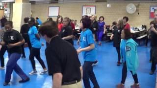 CABALLERO Line Dance 2017 NYC Reunion   Ira Weisburd