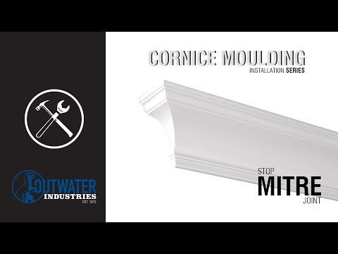Orac Decor | High Density Polyurethane Crown Moulding | Primed White | Face 11-1/4in x 78in Long