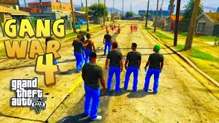 GTA 5 THUG LIFE #4 - GANG WAR BLOOD VS CRIPS