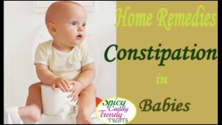 Constipation in Babies of Age 4- 12 Months | Quick Home Remedies