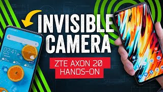 ZTE Axon 20 5G - The Smartphone Notch Is (Almost) Dead – Here's The Camera That Will Help Kill It