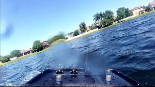 FPV RC AIRBOAT RIDE