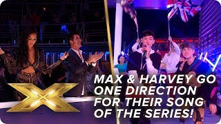Max & Harvey go ONE DIRECTION for their song of the series! | Final | X Factor: Celebrity