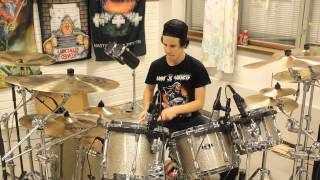 Children of Bodom - Hatebreeder DRUM COVER*