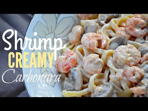 Trending SHRIMP CREAMY CARBONARA – Filipino Style | It's More Fun in the Kitchen