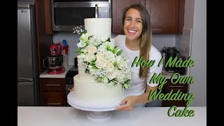 How I Made My Own Wedding Cake | CHELSWEETS