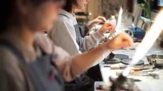 HARIO Lampwork Factory 「LWFで働く人々」