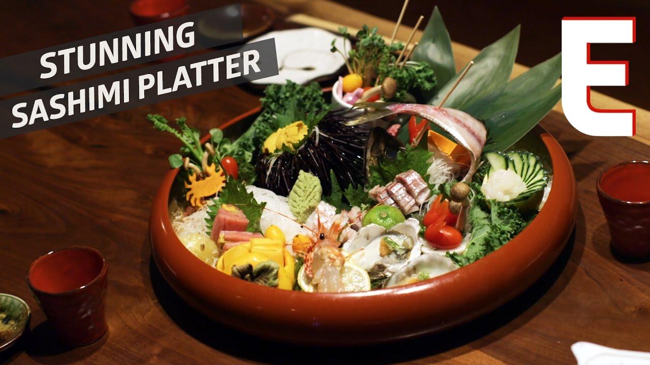 Sea Urchin Roe And Sashimi From Sushi Seki — Snack Break thumbnail