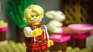 Лего мультфильм - Приключения лего рыцарей - первая серия - stop motion