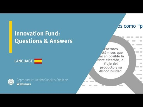 Innovation Fund: Questions & Answers