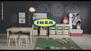 Messy Playroom: Solve It In A Snap By IKEA