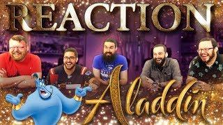 Disney's Aladdin   Official Trailer REACTION!!