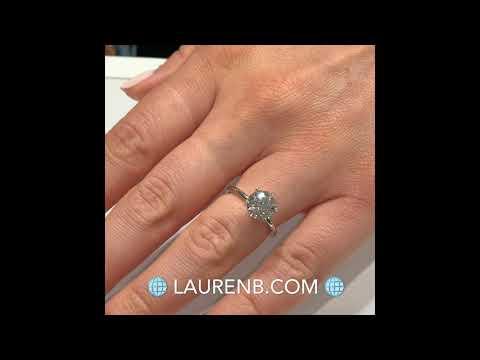 2 ct Round Diamond Super Slim Band Engagement Ring
