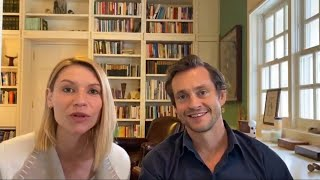 Hugh Dancy And Claire Danes Appearing At The Harlem Stage Fundraiser