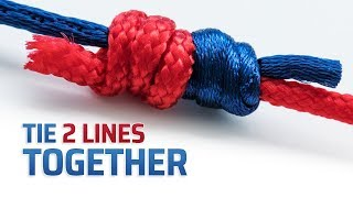 How To Tie 2 Fishing Lines Together Using the Double Uni-Knot
