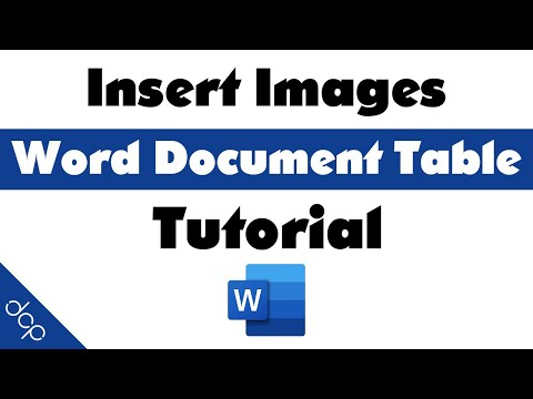 Microsoft word tutorial |How to insert images into word