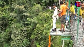 preview picture of video 'Amazing Bungy Jumping at The Last Resort Kodari Nepal by Mr Rajesh Gupta'