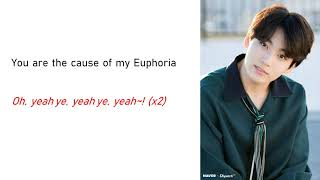 euphoria jungkook lyrics easy - TH-Clip