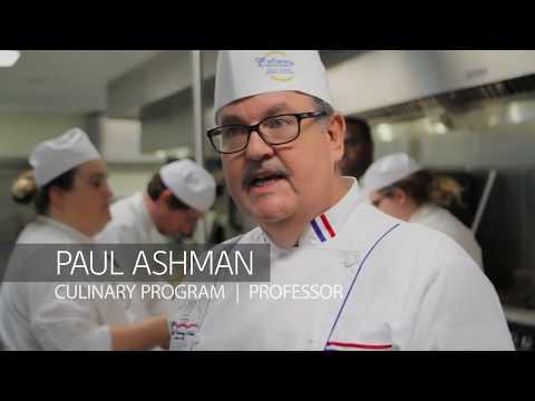 GCSC Culinary Professor Paul Ashman: Teacher Investment