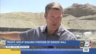 Private group funds border wall effort