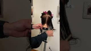 45 Degree Haircut Part 1