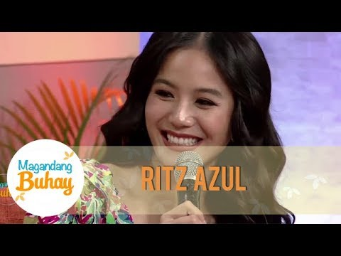Ritz Azul witnesses the blooming relationship of Jake and Kylie | Magandang Buhay
