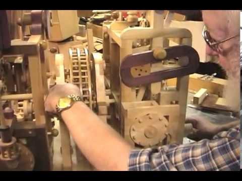 Niesamowita drewniana konstrukcja