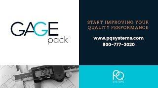 GAGEpack video