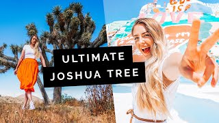 USA Travel Guide: Joshua Tree & Salvation Mountain | Little Grey Box