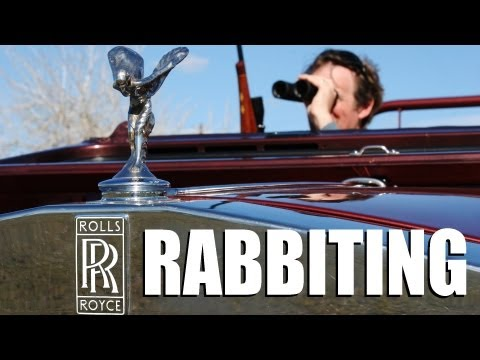 Fieldsports Britain : Rolls Royce rabbiting + black bear hunting