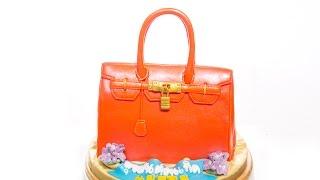 เค้กกระเป๋าแอร์เมส (Hermes Bag Cake)