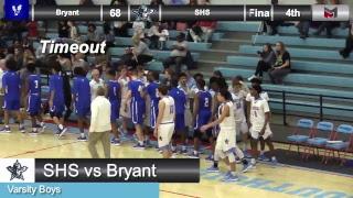 Boys Basketball: Southside vs. Bryant - 2/13/18