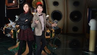 Matt Smith Makeover | Doctor Who Cosplay with Sachie from Geek & Sundry