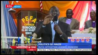 DP Ruto tells off the opposition over allegations on the current food crisis