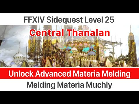 FFXIV 2 1 0166 Advanced Materia Melding - смотреть онлайн на Hah Life