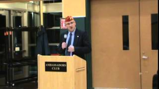 Honoring Veterans Event: USMC Sgt. Patrick Cartier Jr