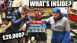 🐒 OPENING A £20,000 (CLAIMED) RACE ENGINE BUILD! MOUNTUNE ENGINE STRIP