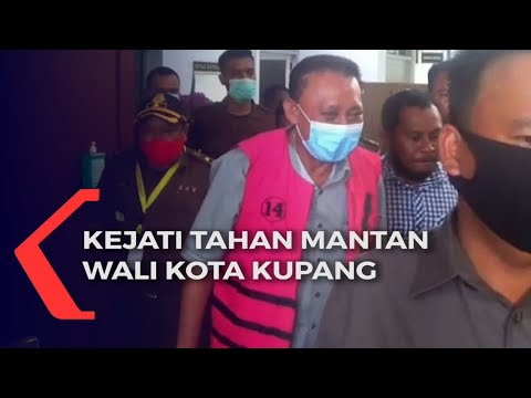 penyidik kejati ntt tahan mantan wali kota kupang terkait kasus pengalihan tanah