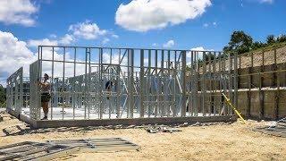 Технология Framecad и 3D-печать ускорят строительство домов.