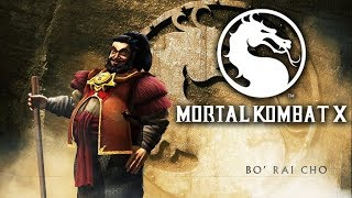 Mortal Kombat XL Бо Рай Чо День Тренировок !!