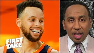 Stephen A. reacts to Steph Curry's hot streak: This is the best Curry has ever been!    First Take