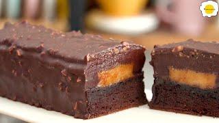 Flourless(Gluten free) Chocolate Caramelized Peanuts Cake 无面粉巧克力焦糖花生蛋糕 Gâteau arachides chocolat