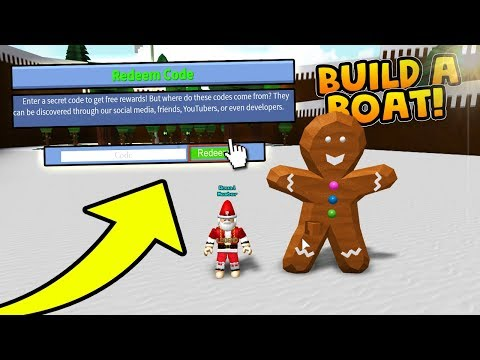 Last Christmas Code Redeem Now Build A Boat For Treasure