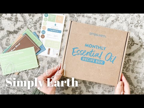 Simply Earth Unboxing June 2021
